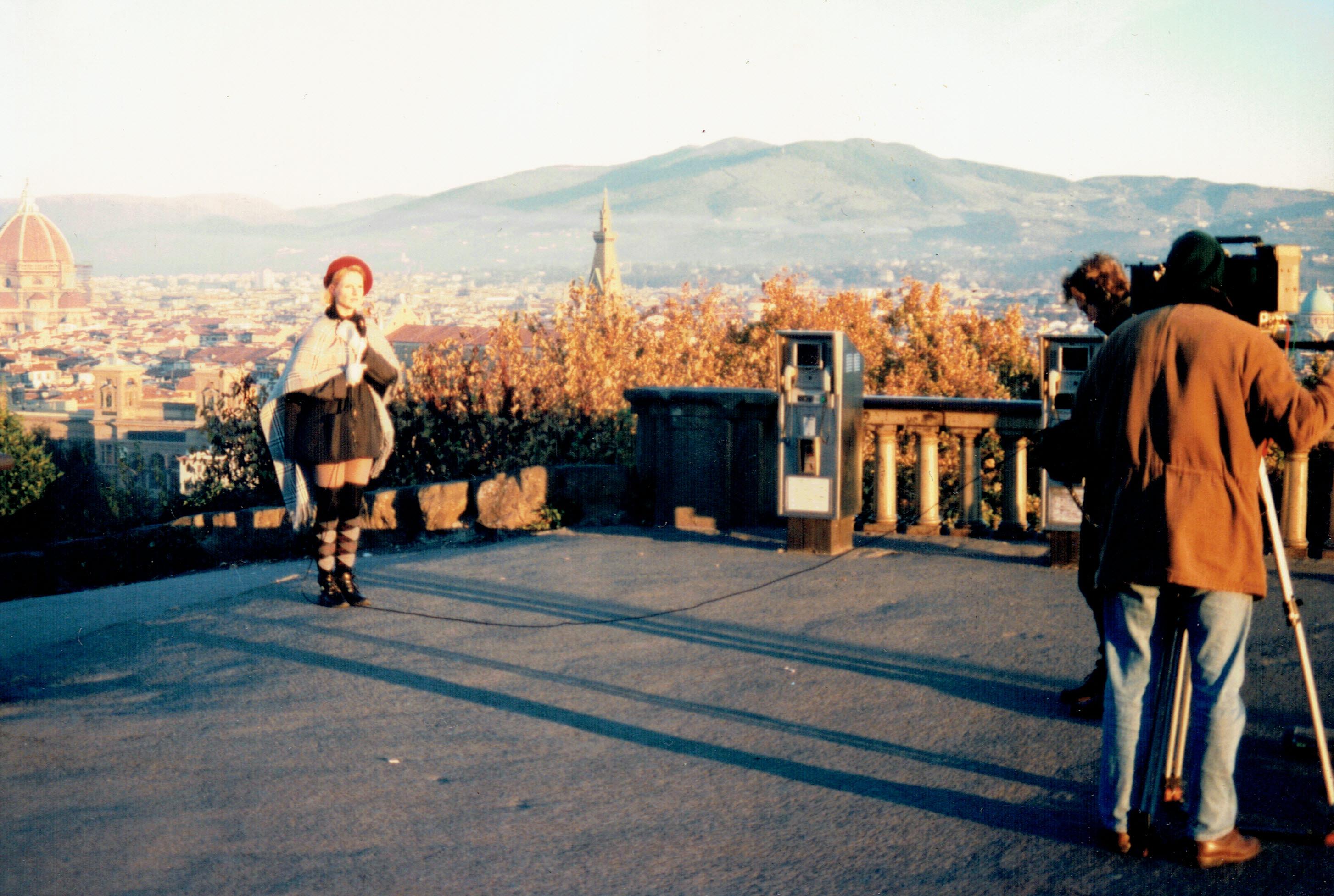 Dreharbeiten BR Florenz